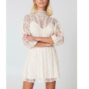 Free People Bittersweet Lace Dress